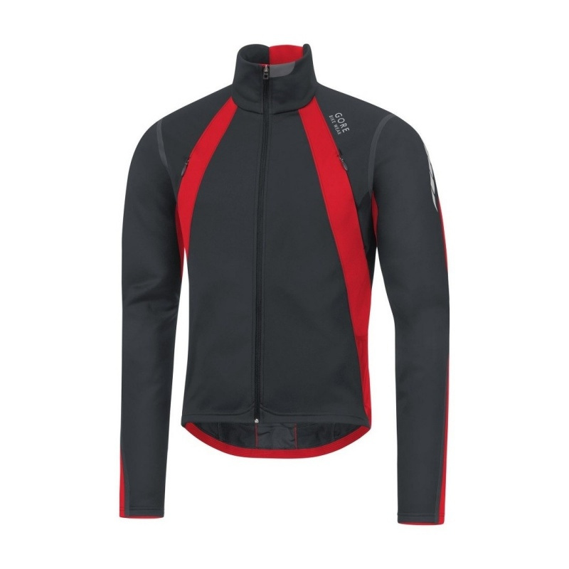 Veste Gore Bike Wear Oxygen GWS Noir/Rouge