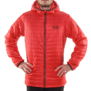Mountain Hardwear Doudoune Mountain Hardwear Thermostatic Hooded Rouge Mountain