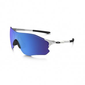 Oakley Lunettes Oakley EVZero Path Argent - Verre Sapphire Iridium