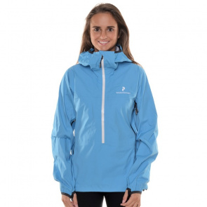 Peak Performance Veste FEMME Peak Performance Blacklight Touring Anorak Bleu Scuba