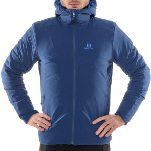 Salomon Veste Salomon Drifter Hoodie Bleu Midnight