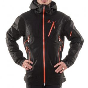 Salomon Veste de Ski Salomon Foresight 3L Noir/Orange Glow
