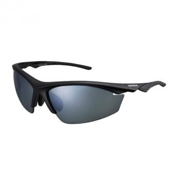 Shimano EQX2 Bril Zwart - Zwart/Grijs Polariserend/Clear
