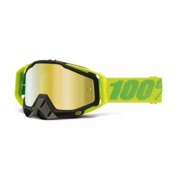 Masque 100% RaceCraft Sour - Verre Mirror Or