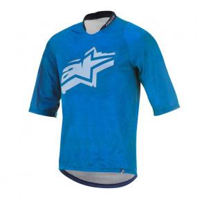 Alpinestars Alpinestars Totem Shirt met 3/4 Mouwen Blauw/Wit 2017