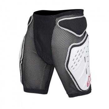 Short de Protection Alpinestars Bionic Noir/Blanc 2017
