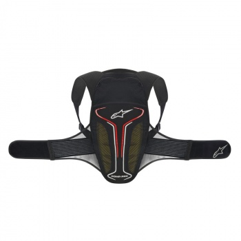 Protection Dorsale Alpinestars Evolution Noir/Blanc/Rouge 2017