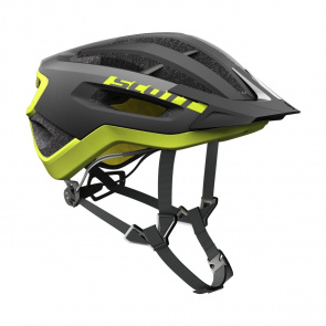 Scott textile Casque Scott Fuga Plus Noir/Jaune 2017