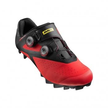 Chaussures VTT Mavic CrossMax Pro Noir/Rouge/Noir 2017