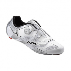 Northwave Chaussures Route Northwave Sonic 2 Plus Blanc/Argent 2017