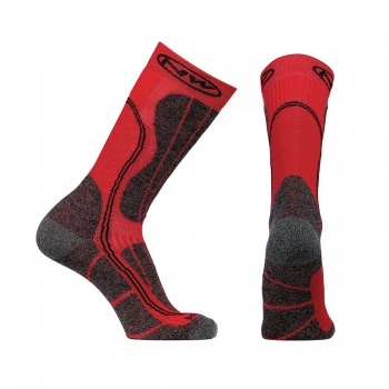 Chaussettes Northwave Husky Ceramic Tech High Sock Rouge/Noir 2017