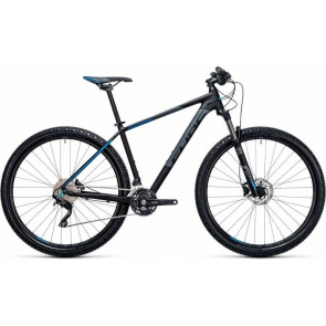 "Cube VTT 27.5"" Cube Attention Noir/Bleu 2017"