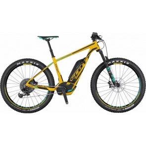"Scott VTT Electrique 27.5""+ Scott E-Scale 700 Plus Ultimate Jaune/Noir 2017"