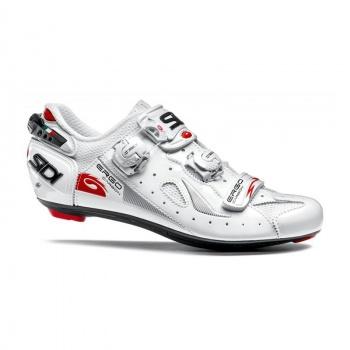 Chaussures Route Sidi Ergo 4 Carbon Composite Lucido Blanc/Blanc 2017