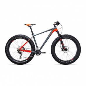 Cube - Promo Fatbike Cube Nutrail Gris/Rouge 2017