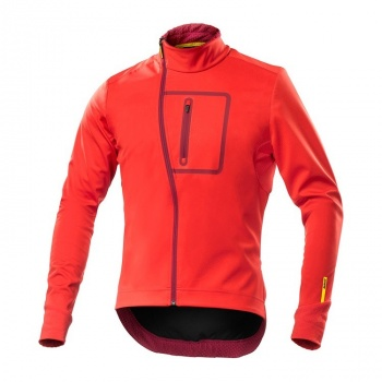Veste Mavic Ksyrium Elite Convertible Rouge Racing 2017