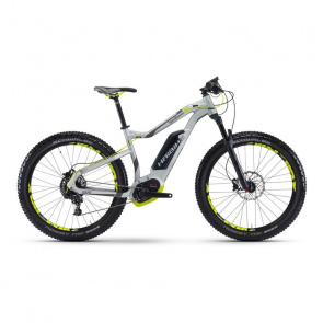 "Haibike - Promo VTT Electrique 27.5"" Haibike XDURO HardSeven 6.0 500Wh Gris Mat 2017"