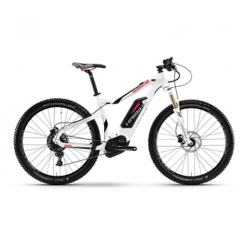 "VTT Electrique 27.5"" Haibike XDURO HardSeven 5.0 500Wh Blanc 2017"
