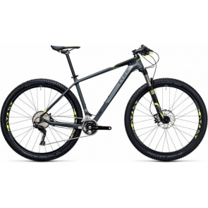 "Cube VTT 27.5"" Cube Reaction GTC Pro 2X Gris/Jaune 2017"