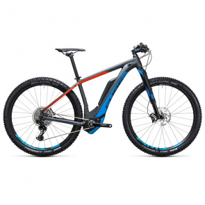 "Cube VTT Electrique 29"" Cube Reaction Hybrid HPA Eagle 500 Iridium/Bleu 2017"