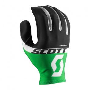 Scott textile Scott RC Team LF Handschoenen Zwart/Online Groen 2017