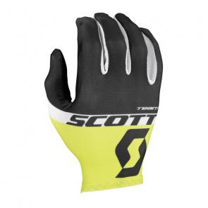 Scott textile Scott RC Team LF Handschoenen Zwart/Geel 2017