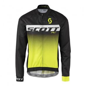 Scott textile Scott RC Pro WB Jas Zwart/Geel 2017