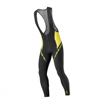 Collant Mavic Cosmic Elite Thermo Jaune 2017