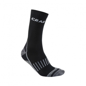 Craft Pack de 2 Paires de Chaussettes Craft Warm Training Noir 2017