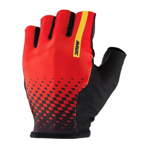 Mavic textile Gants Mavic Cosmic Rouge Fiery 2017