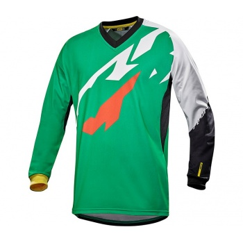 Maillot Manches Longues Mavic Crossmax Pro Deep Mint 2017