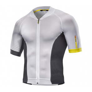 Mavic textile Maillot Manches Courtes Mavic Cosmic Ultimate Blanc/Noir 2017