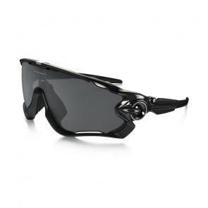 Oakley Lunettes Oakley Jawbreaker Noir Poli - Verre Noir Iridium