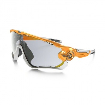 Lunettes Oakley Jawbreaker Orange Atomic - Verre Transparent