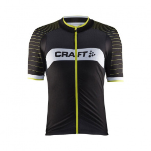 Craft Maillot Manches Courtes Craft Gran Fondo Noir/Race 2017
