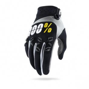 100% 100% Airmatic Youth Handschoenen voor Kinderen Zwart 2017