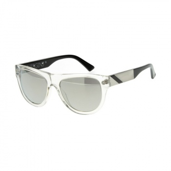 Lunettes 100% Higgins Clear - Verre Mirror Argent