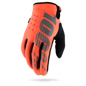 100% Gants 100% Brisker Winter Orange 2017