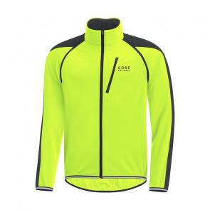 Gore Bike Wear Veste Gore Bike Wear Phantom Plus GWS ZO Jaune Neon/Noir