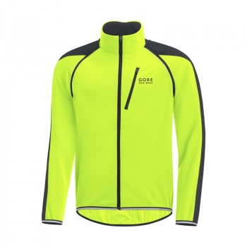 Veste Gore Bike Wear Phantom Plus GWS ZO Jaune Neon/Noir 2017