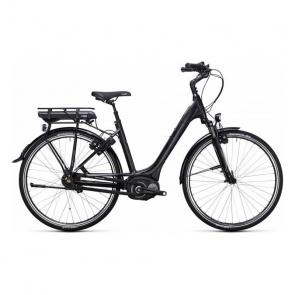 Cube - Promo Vélo Electrique Cube Travel Hybrid 400 Easy Entry Noir/Blanc