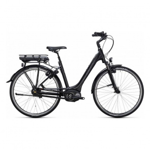 Cube - Promo Vélo Electrique Cube Travel Hybrid 500 Easy Entry Noir/Blanc