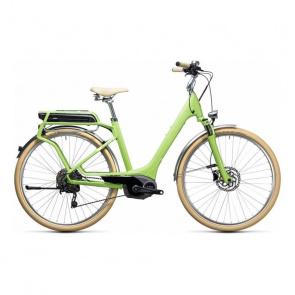 Cube Vélo Electrique Cube Elly Ride Hybrid 400 Vert/Blanc 2017