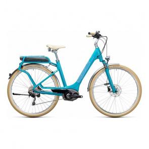 Cube Vélo Electrique Cube Elly Ride Hybrid 500 Bleu/Aqua 2017