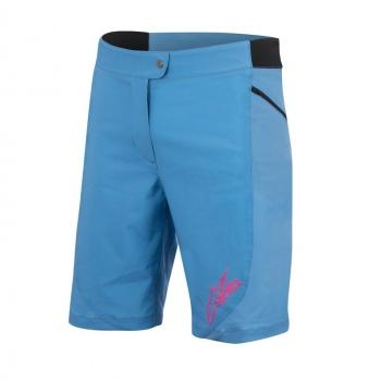 Alpinestars Stella Pathfinder Short voor Vrouwen Blauw/Roze 2017
