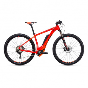 "Cube VTT Electrique 29"" Cube Reaction Hybrid HPA SL 500 Rouge/Orange 2017"