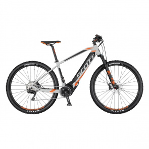 "Scott VTT Electrique 29"" Scott E-Aspect 910 Gris/Noir/Orange 2017"