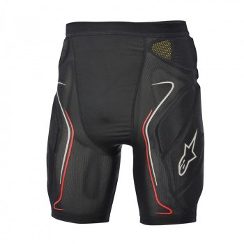 Short de Protection Alpinestars Evolution Noir/Blanc/Rouge 2017