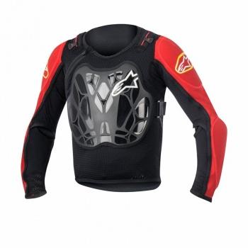 Veste de Protection pour Enfants Alpinestars Bionic Youth Noir/Rouge 2017