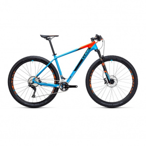 "Cube VTT 29"" Cube Reaction GTC Race 2X Bleu/Orange 2017"